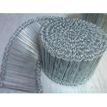 Annealed bag tie wire loop baling wire