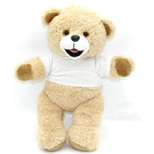 Kundenspezifisches gedrucktes Logo-T-Shirt Plüsch-Teddybär
