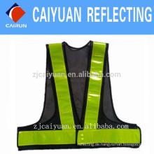 CY 100 % Polyester Sichtbarkeit Weste Sicherheitsarbeit tragen benutzerdefinierte reflektieren