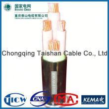 El cable de transmisión libre del halógeno del humo bajo 3x2.5mm2 de calidad superior