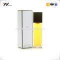 High quality custom printing UV logo perfume box packaging