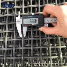 Сталь 65mn провод железной проволоки квадратного отверстия ячеистая минируя сетки экрана