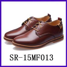 Royal fomal shoes rubber insole pu upper men footwear
