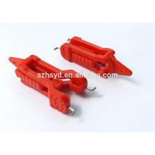 CE certificación antideslizamiento bloqueo de 8mm cerradura de nylon en miniatura cierre de circuito