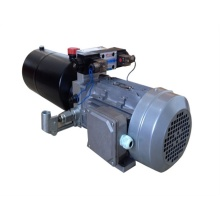 AC hydraulic power unit for cement mixing machine