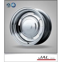 Diseño de moda Rueda de remolque de cromo Rueda de ruedas de acero de acero Made in China