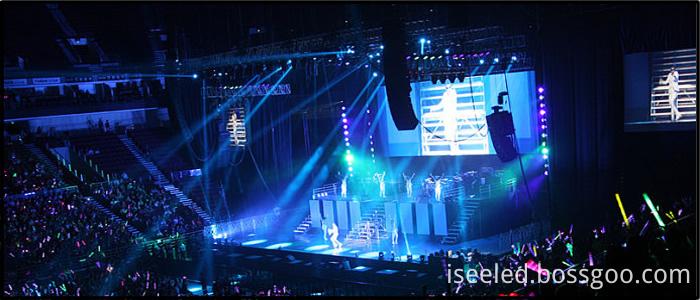 LED Par Light Stage