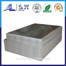 Hoja de aluminio para hacer el tablero de la muestra