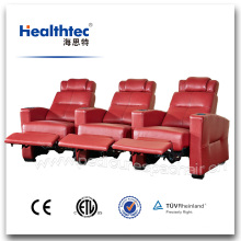 Portable Electric Real Leather Cinema Chair Used (T016)