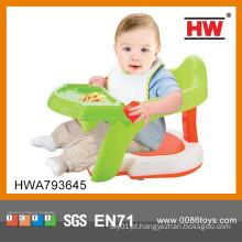 Produto novo Plástico 2 em 1 cadeira de alimentação do bebê