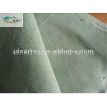 Telas de pana de banda elástica de algodón de 18W