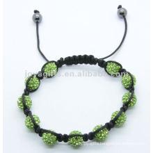 Wholesale 2014 shamballa pave crystal ball bracelet 2012 Joya shamballa pave crystal ball bracelet
