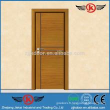 JK-W9045 Porte en bois de conception simple de haute qualité