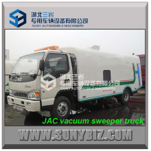 JAC 5cbm Trockene Vakuum Kehrmaschine Road Kehrmaschine LKW