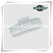 Steel/Fe Clip on Wheel Balance Weights for Truck, Epoxy Polyester Coating, Super Quality