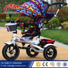 China Fabrik billige Preis Fahrt auf Trike Kinder Spielzeugauto / Baby Dreirad für 3 Jahre alten niedrigen Preis / Luft Rad Baby Trike zu verkaufen