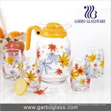 7PCS Water Drinking Glass Set Drinking Glassware