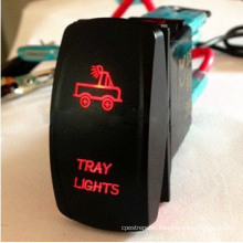 2015 Hot Product Laser Rocker Switch for Motorcycle