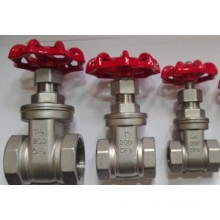 ANSI Ss 304/316 Gate Valve with NPT/BPS Thread