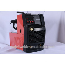 New Design Pulse Aluminium Wire Feeder Compacted Inverter MIG200 and MIG250 Welding Machine