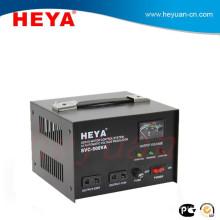 SVC usage 500va ac adjustable automatic voltage regulators with servo motor