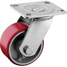 Rodízios giratórios de placas de rolamento de agulhas pesadas