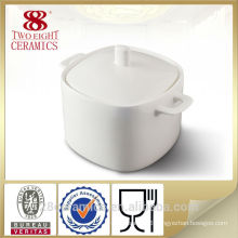Wholesale fine royal porcelain ware, ceramic soup tureen for hotel