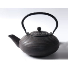 Chinese Printed Hot Sale Enamel Cast Iron Teapot with Cups