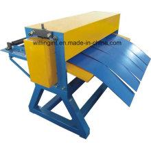 Bobina de aço simples de alta qualidade que corta a máquina