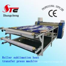 Machine de presse de la chaleur de sublimation de rouleau de Digital Machine de presse de la chaleur de sublimation de rouleau de grand format