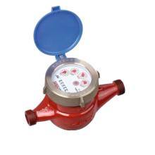Traditionelles trockenes Zifferblatt Rotary Vane Wheel Messing Durchfluss Wasser Meter
