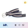2016 unisex stylish single pin buckle PU fabric elastic belt