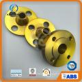 ASME / ANSI B16.5 Bride de soudure en acier au carbone A105 Wn RF (KT0406)