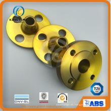 Brida de cuello de soldadura de acero al carbono ASME / ANSI B16.5 A105 Wn (KT0406)