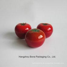 Großhandelshautpflege Packagingempty Frucht-Tomaten-Form-kosmetische Flaschen-Reihe