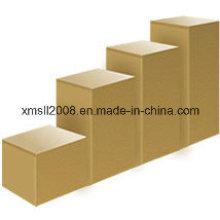 Ламинированной древесины дисплей куб