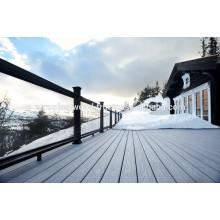 Holzböden im Freien Verwendung Holz Kunststoff Composite Decking