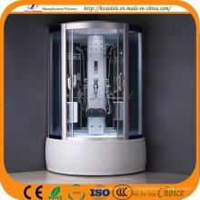 Cuarto de ducha interior de cristal gris vapor (ADL-8327)