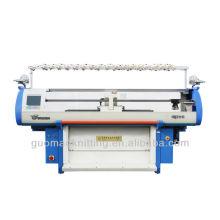 doble sistema suéter máquina de tejer con el peine (GUOSHENG)