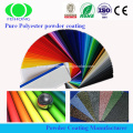 metallic electrostatic epoxy polyester powder coating
