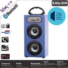 Heißer verkauf professionelle drahtlose bluetooth 4 zoll lautsprecher