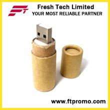 Papier recyclé USB Flash Drive avec logo (D833)