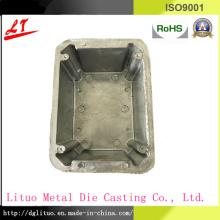 Liga de alumínio fundição de hardware LED Lighting / base de base de satélite