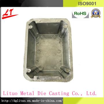 Aluminium-Legierung Druckguss-Hardware LED-Beleuchtung / Satelliten-Basis Basis