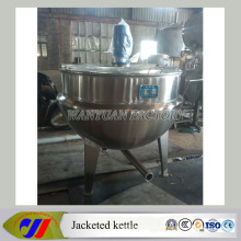 Vertical Steam Heating Jacketed Cooking Pot for Food