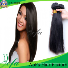 New Most Popular Double Weft Brazilian Straight Hair Extension
