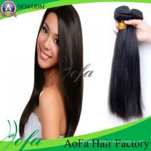 Новый Популярный Двойной Уток Бразильский Прямо Наращивание Волос