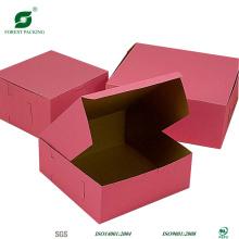 Cajas de correo corrugado de color rosa