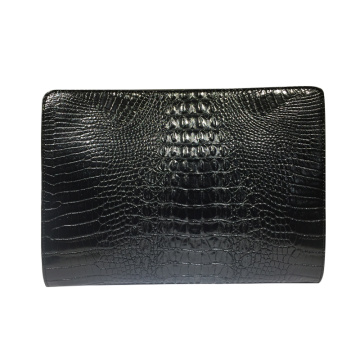 Fashionista krokodil patroon oversized envelop clutch bags