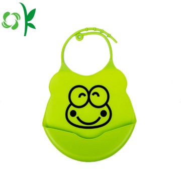 Afdrukken Cartoon Animal Shape Siliconen baby slabbetjes